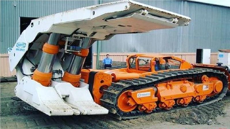 Extreme Dangerous Biggest Construction Machine Heavy Equipment Working Amazing Modern Machinery