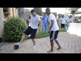ASHLEY COLE Chelsea FC  and Wassim Benslimane Freestyle football