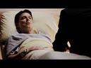 Томми и Мойра навещают Малькольма Мерлина в больнице