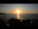 Закат в Азовском море Керченский п ов