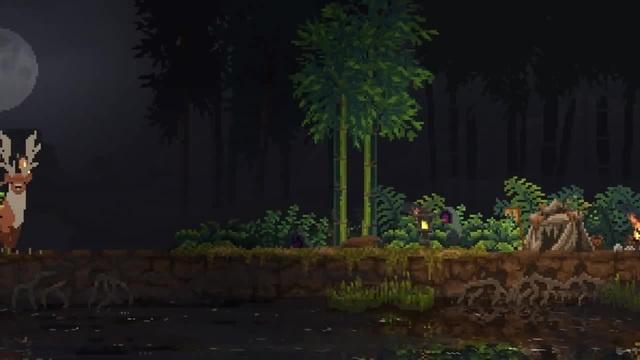 ▼Kingdom: Two Crowns Наруто на страже деревни