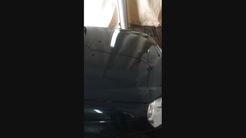 Тефлоновая полировка автомобиля