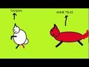 Tavşan ile Tilki Hikayesi Paint Terk