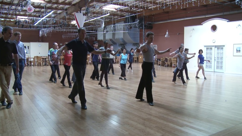 Tytus Bergstrom teaches detailed Cha Cha Locks PLUS: Samba - Rumba - Jive - Paso Doble
