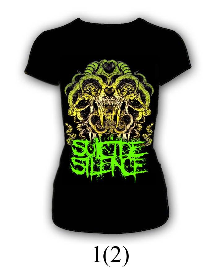 Футболка Suicide Silence  (женская)