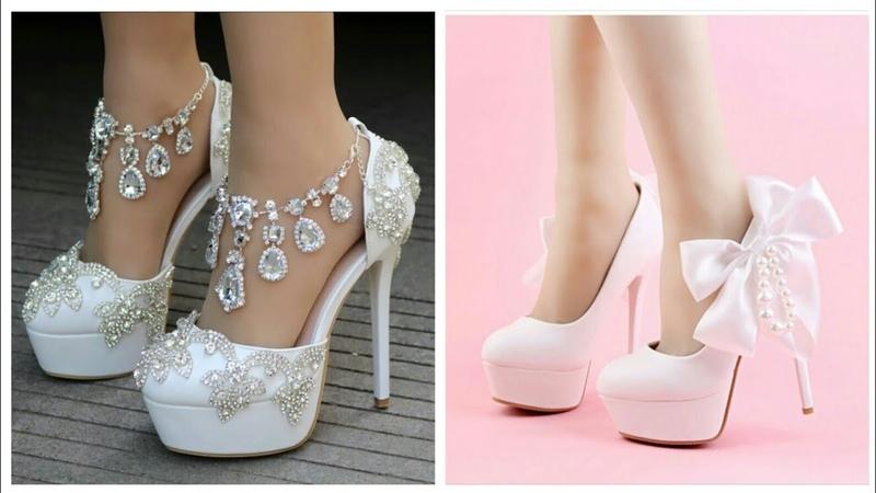 تعرفو على جديد احذية العروس موديلات راقية 1