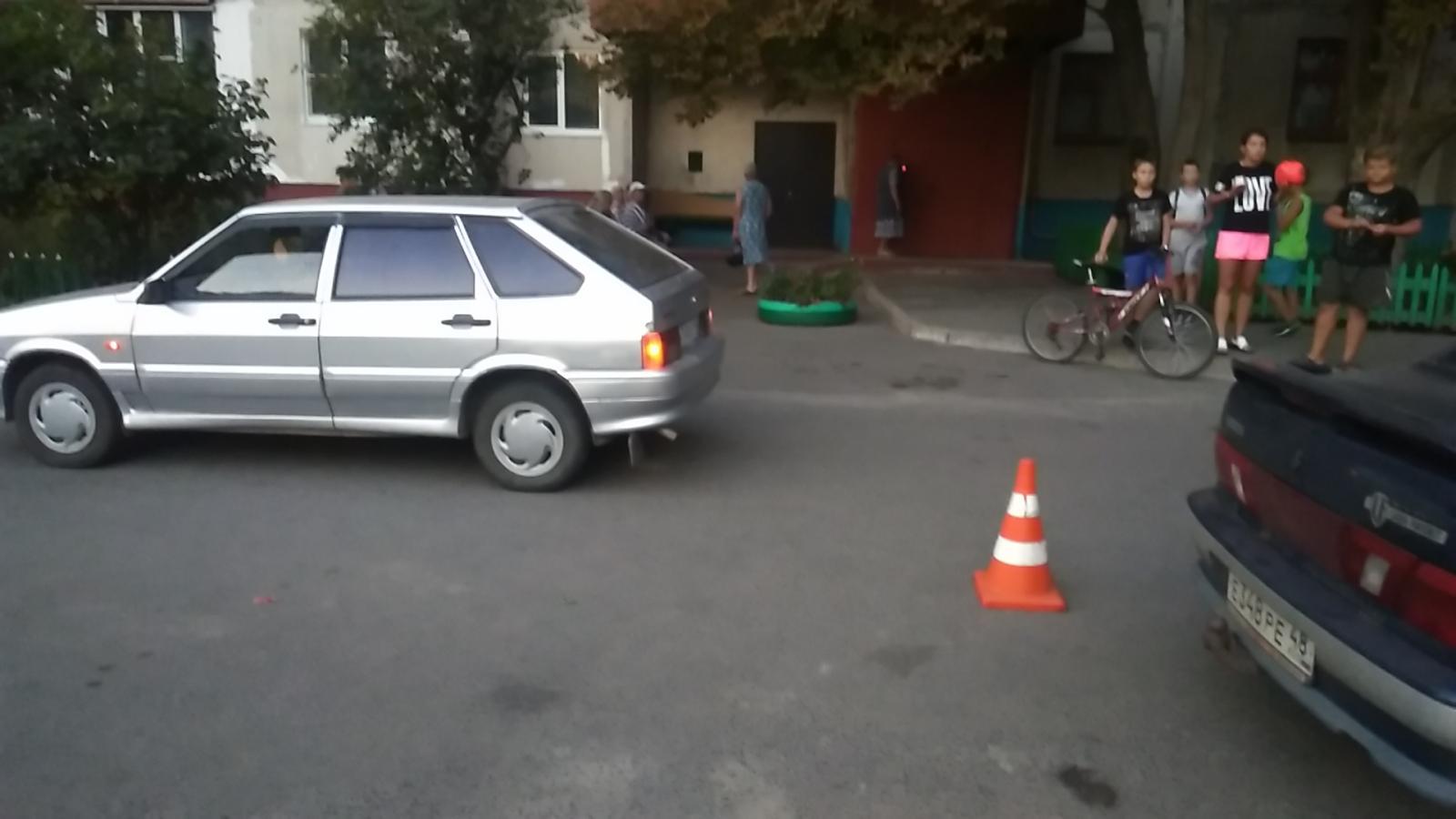 На ПЛК 12-летний мальчик попал под машину