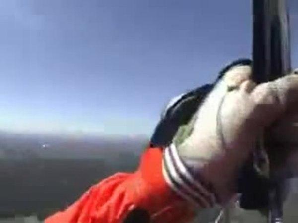 История одного парашютиста