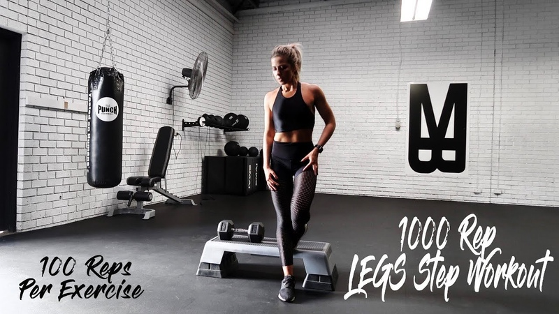 1000 TO LEAN LEGS ABS STEP WORKOUT