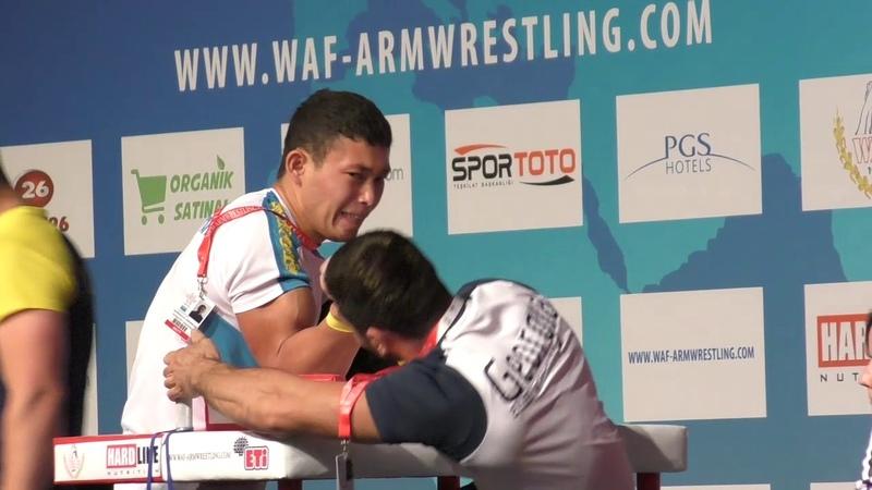 World Arm Wrestling Championship 2018 (DAY 6 SENIORS RIGHT HAND HIGHLIGHTS PART 2)