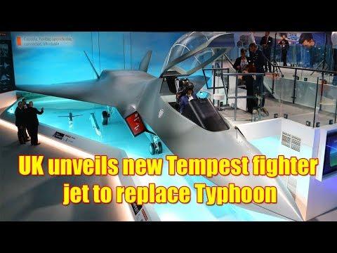 UK unveils new Tempest fighter jet model