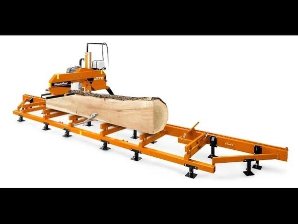 Ленточная пилорама LT 70 Wood-Mizer