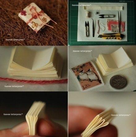 Как сделать книжечку своими руками маленькую