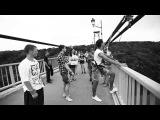 Rope jumping by Slobodian Maksim ( прыжки с моста ,Житомир) сальто