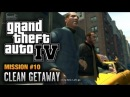 GTA 4 - Mission #10 - Clean Getaway (1080p)