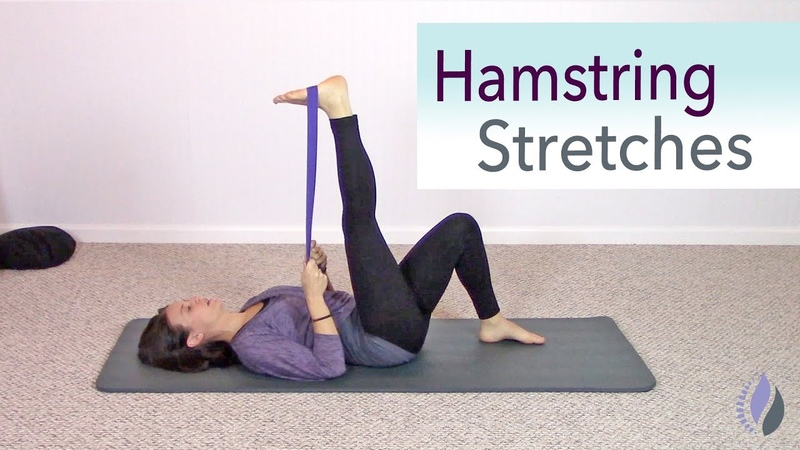 Pilates for tight Hamstrings | Stretches for the Hamstrings