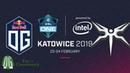 OG vs Mineski - Game 1 - ESL One Katowice 2019 - Group Stage.