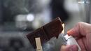 НГС поджигает шоколад