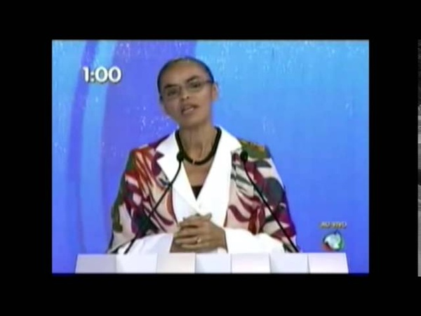 Dilma e Marina anunciando Top Therm
