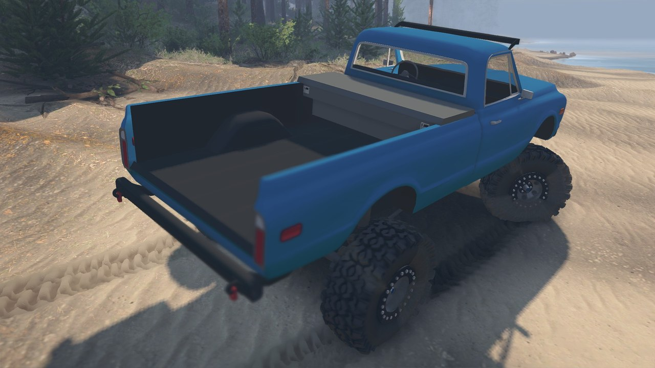 1972 Chevrolet Pickup для 23.10.15 для Spintires - Скриншот 1