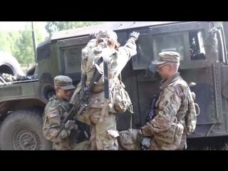 BPTA Soldiers build teamwork, earn silver spurs BEMOWO PISKIE, POLAND 18.08.2018