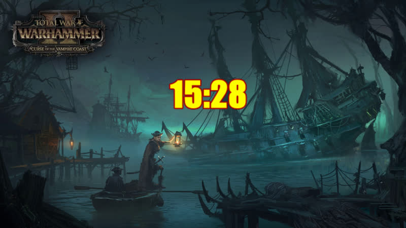 [18] Шон играет в Total War Warhammer II Curse of the Vampire Coast СТРИМ 2 (PC, 2017)