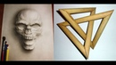 3D рисунки - невероятные оптические иллюзии, обман зрения 1