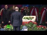 Владимир Путин принял участие в церемонии прощания с Олегом Табаковым
