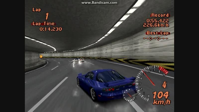Leader - М. Муляр [MMC Evo-6] vs Chaser - Д. Кулаковский [Mazda RX-7]