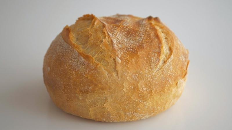 Хлеб без замеса 5 минут в день Простой и невероятно вкусный