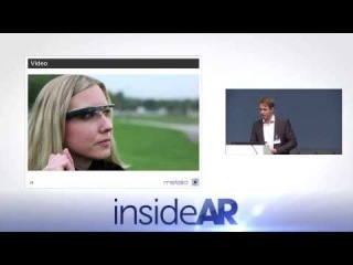 InsideAR 2013: Stefan Misslinger - The World's First AR Browser on Google Glass