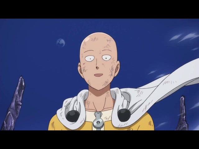 Лучшие приколы и бои аниме Сайтама Ванпанчмен Гомо гомо зек часть 3