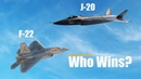 America's F-22 Raptor vs. China's Stealth J-20: Who Wins?