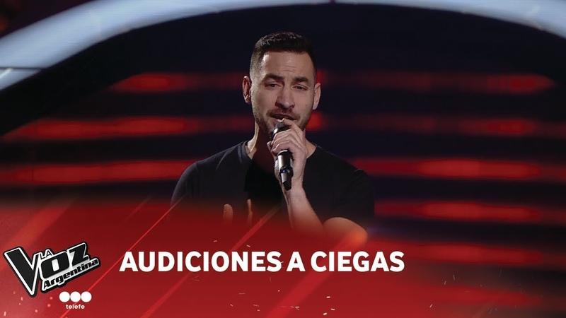 Pablo Fava - Hasta el final - David Bisbal - Audiciones a ciegas - La Voz Argentina 2018