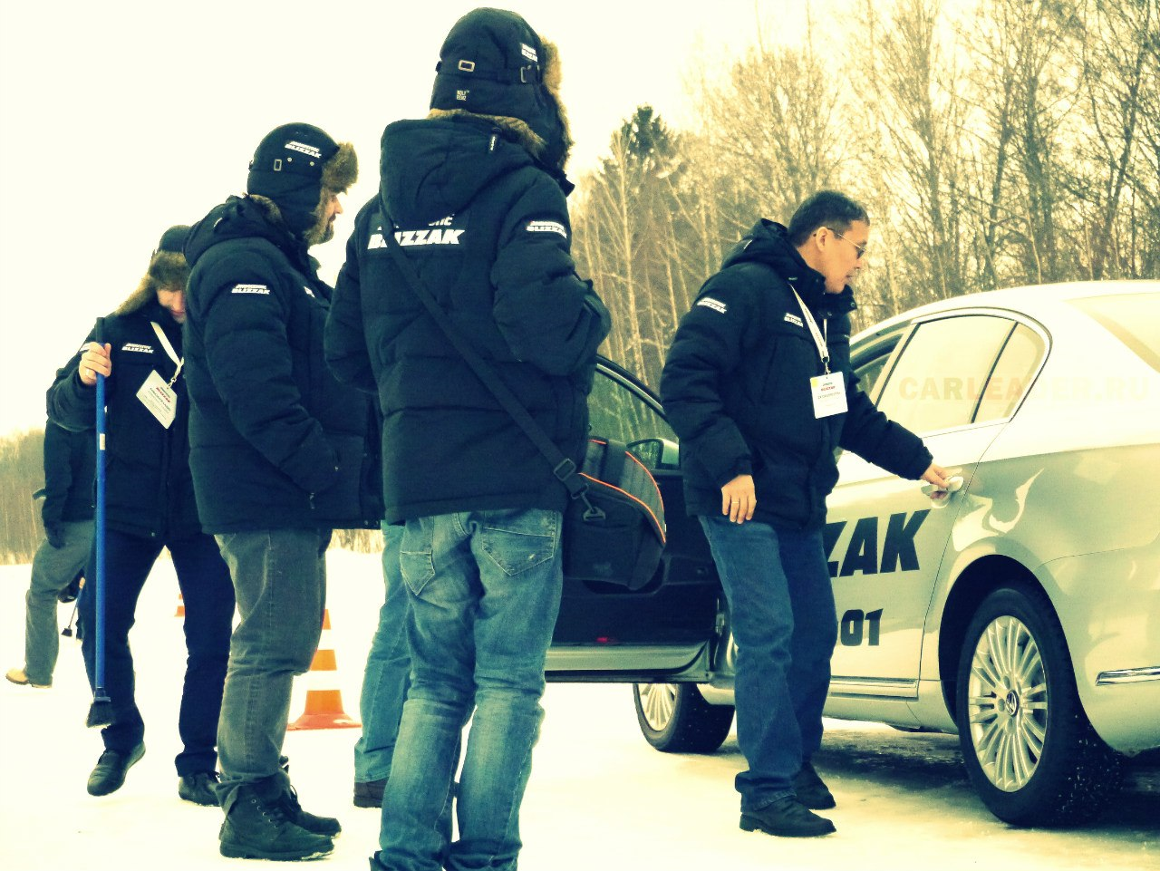тест зимних шин Bridgestone
