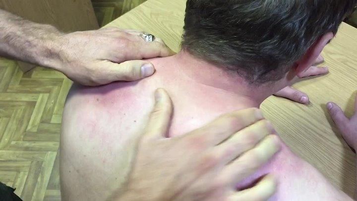 Как быстро убрать головную боль и шейный остеохондроз без таблеток и хирургии! Обучающий ролик по лечебному массажу от Пруткова Евгения!