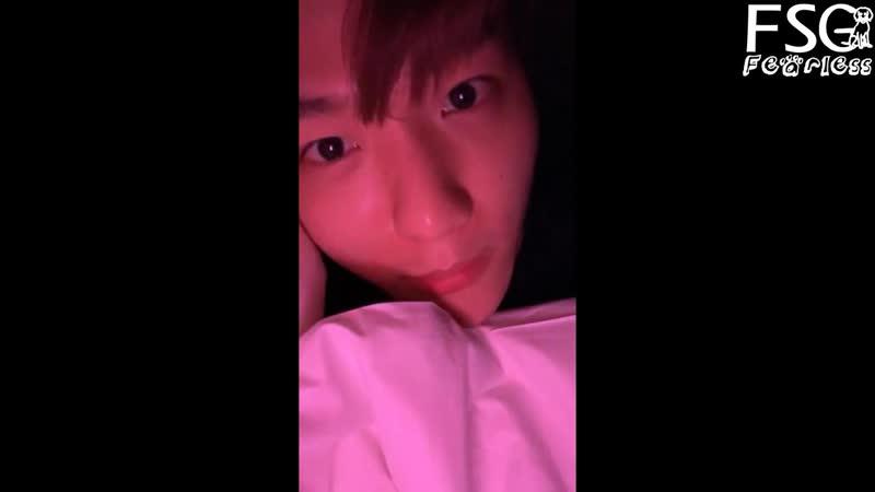 [РУС.САБ] 181124 EXO's Baekhyun Instagram Live
