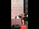 FANCAM 180811 Ailee @ Hi-Touch Event KCON 2018 LA