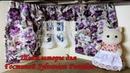 Шьём шторы для гостиной Большой дом со светом Sylvanian Families 2752