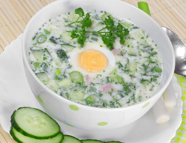 Топ 5 рецептов холодных летних супов