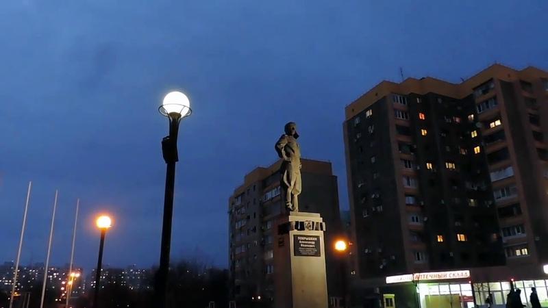 Таймлапс Закат Краснодар, ЭНКА Памятник Покрышкину
