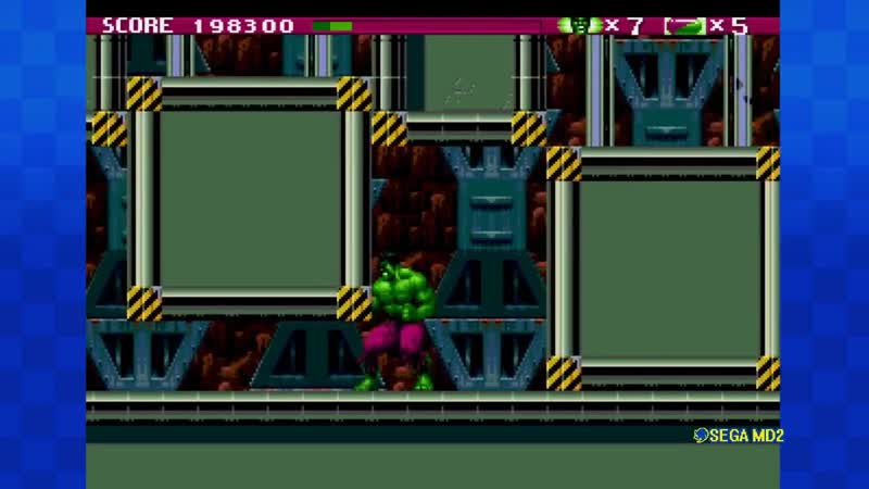 The Incredible Hulk (Genesis/Mega Drive) By Schlauchi