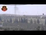 18+ Сирия. Подбитие танка из ПТУР / Syria  Destroyed tank from anti tank