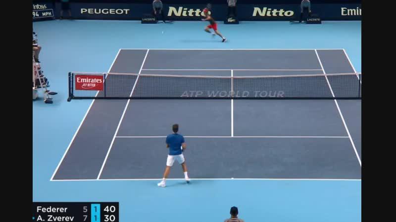 Roger Federer vs Alexander Zverev HIGHLIGHTS ATP Finals 2018 SF