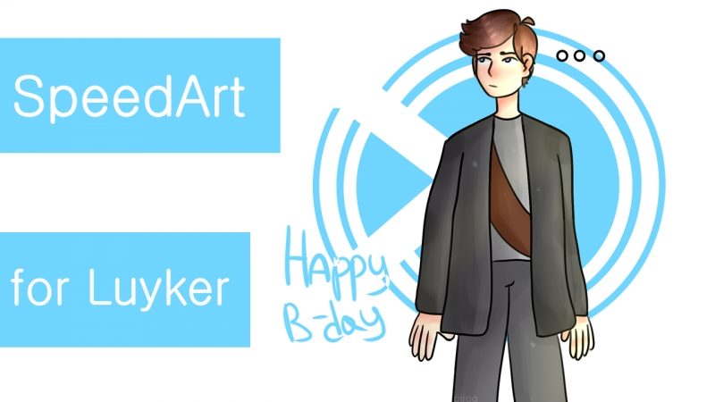 SpeedArt for Luyker | Happy B-day