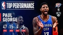 Paul George's 25 4th Quarter Points Lead OKC in Comeback Win Over Brooklyn | December 5, 2018
