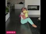 Тренировка с ребенком