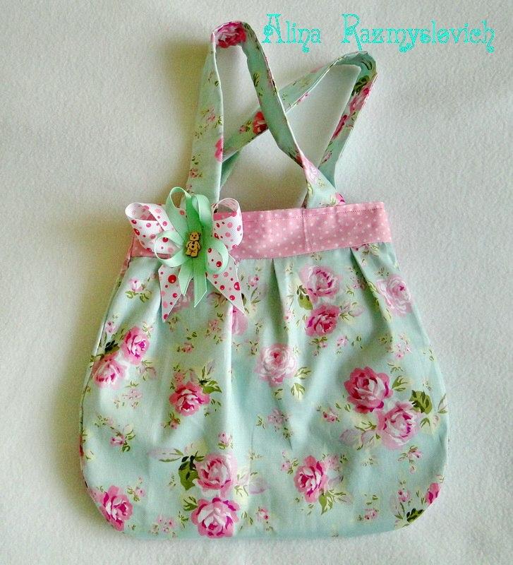 Сумочки для маленьких модниц своими руками выкройки