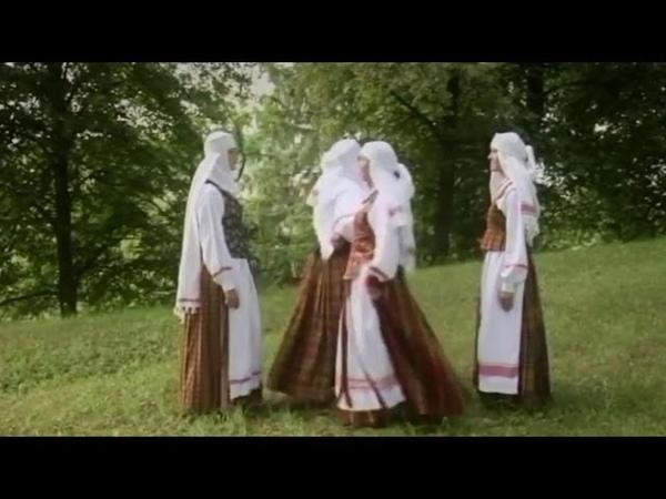 Lithuanian folk glee   Kupiškio sutartinės - Gegutyta sodi, sodely kukovo (Kupkėmis)