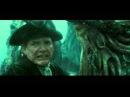 Пираты карибского моря 3 Бой Черной жемчужины с Летучим Голландцем